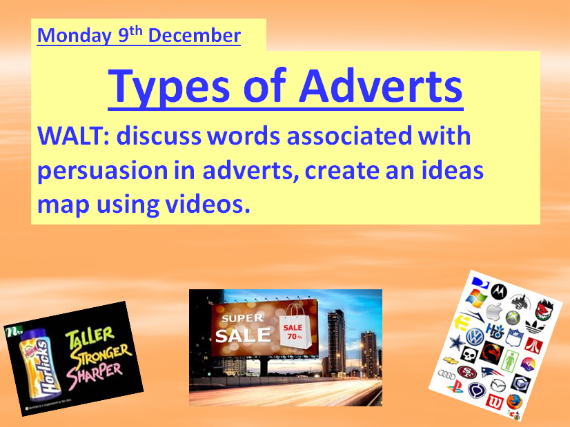 Advertising Unit of Work ~ TWO WEEKS of lessons & Resources - Ready-To-Use Format.