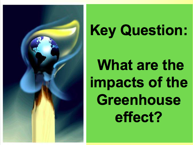 The Greenhouse Effect! Global Warming