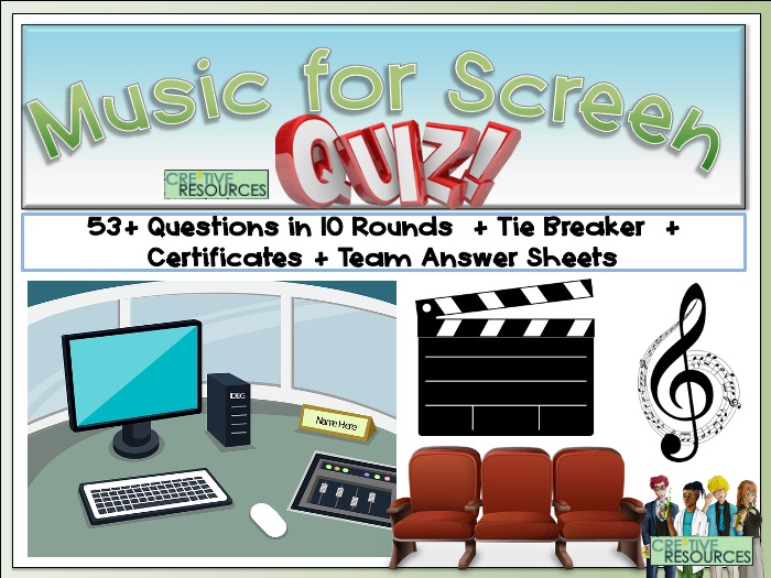Music for Screen Quiz