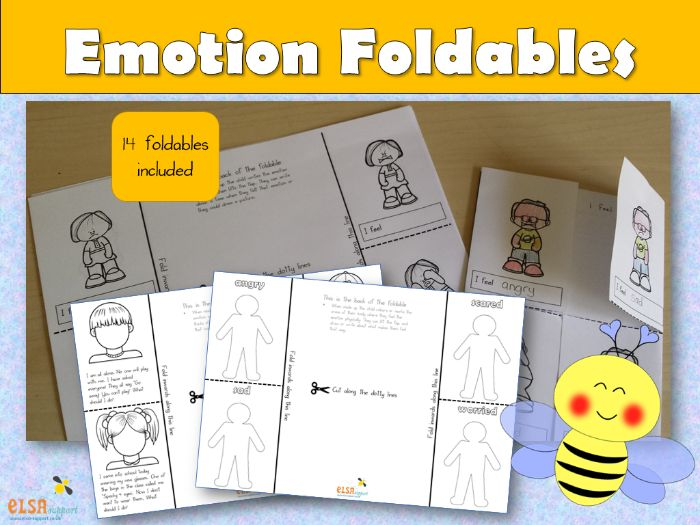 PSHE: Emotion Foldables