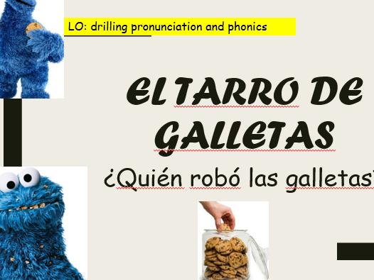 Phonics and Pronunciation - El tarro de galletas