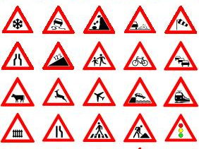 FRENCH ~ Traffic Signs & Les Directions en Ville