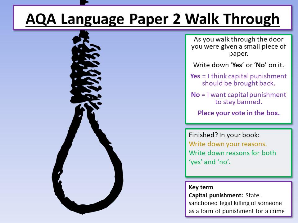 AQA English Language Paper 2 - Section A Walkthrough / Revision