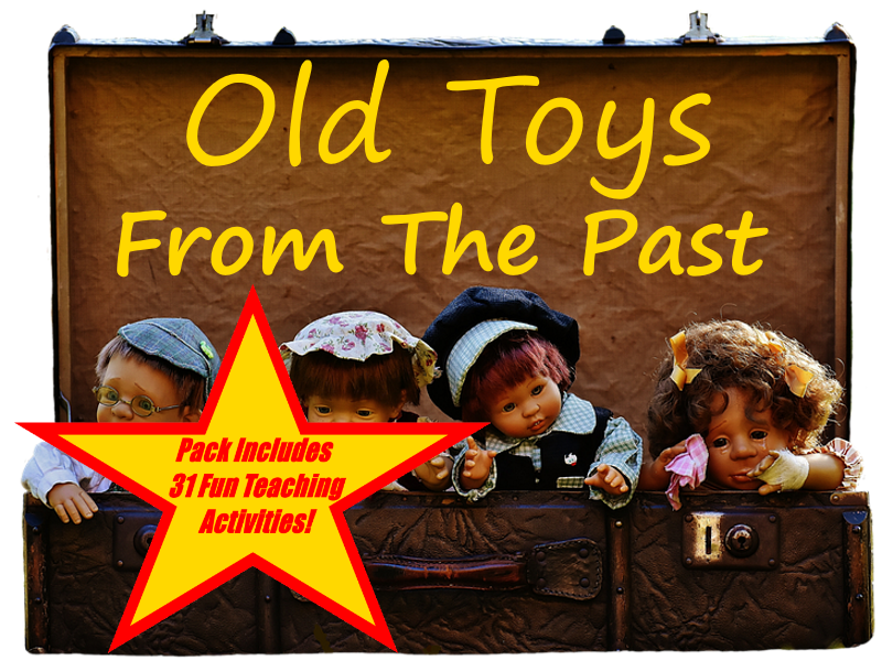 30 Images Of Toys From The Past + 31 Fun Teaching Activities For These Cards