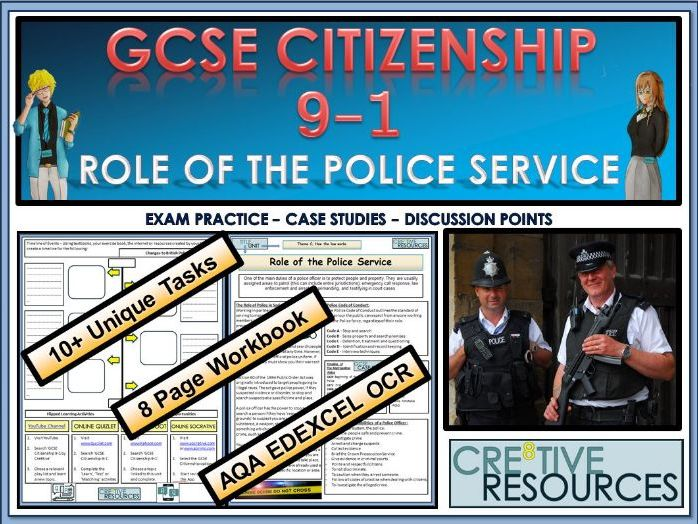 GCSE Citizenship (9-1)  -  Role of the Police Service