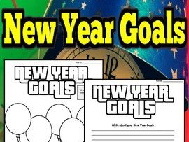 New Year Goals - Worksheets/Mind Maps
