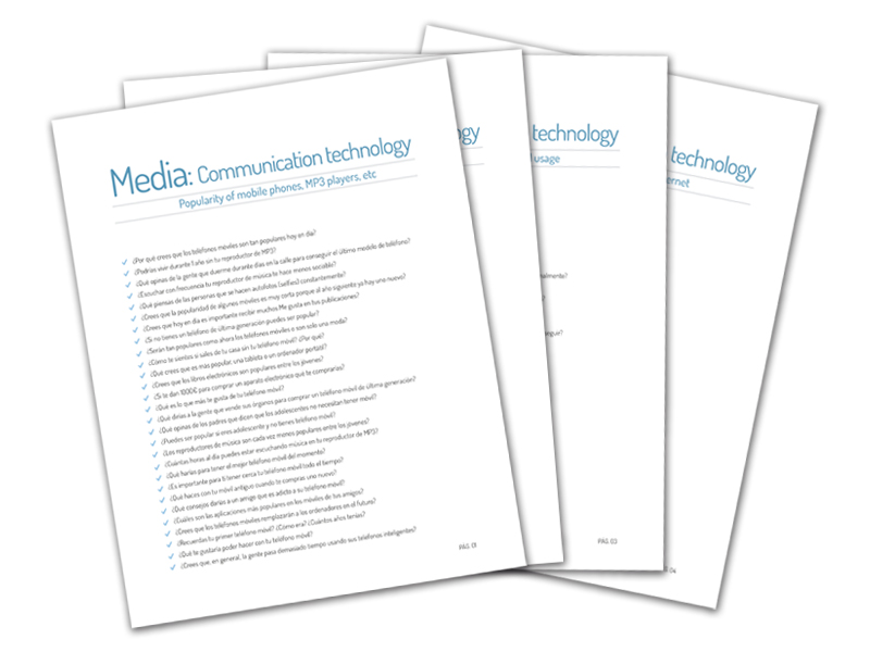 Y12 - Questions on Media (Communication Technology)