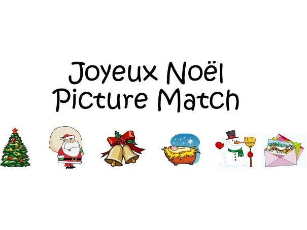 Joyeux Noël Picture Match