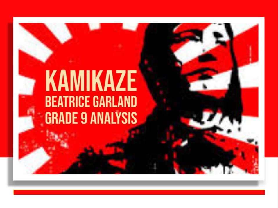 Kamikaze – Grade 9 quotation analysis & model answers