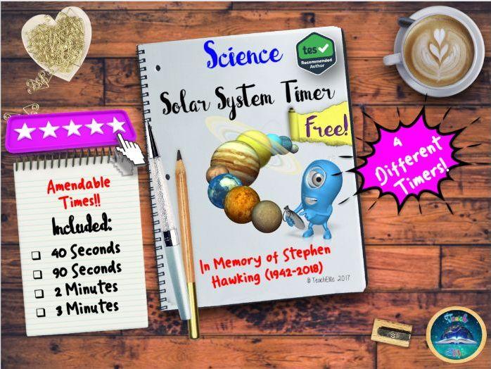 British Science Week : Space Timer