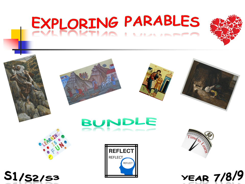 Exploring Parables - bundle