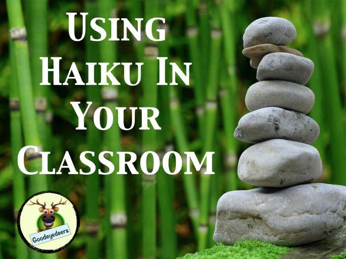 Haiku In Your Classroom