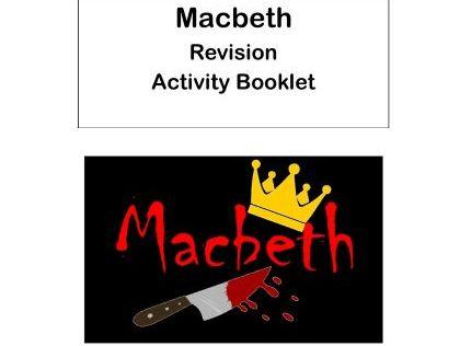 AQA Macbeth Revision Activity Booklet