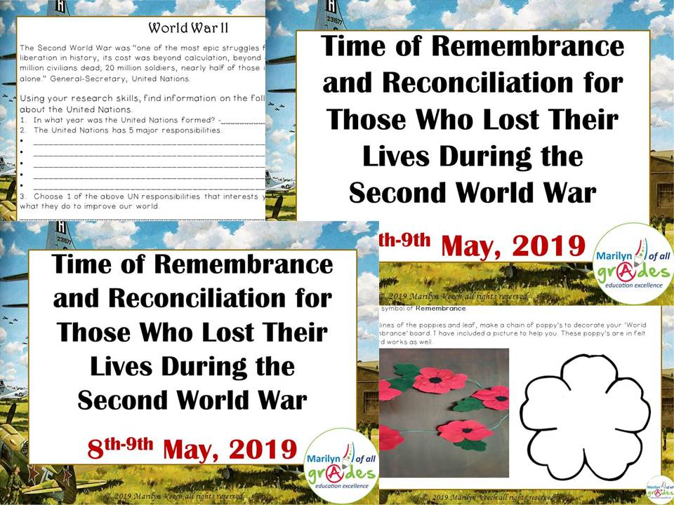 Time of Remembrance  and Reconciliation for  Those Who Lost Their  Lives During WW11