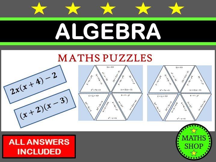 Algebra Puzzles