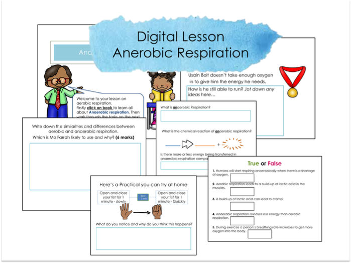 Anerobic respiration Google classroom Lesson and Activities