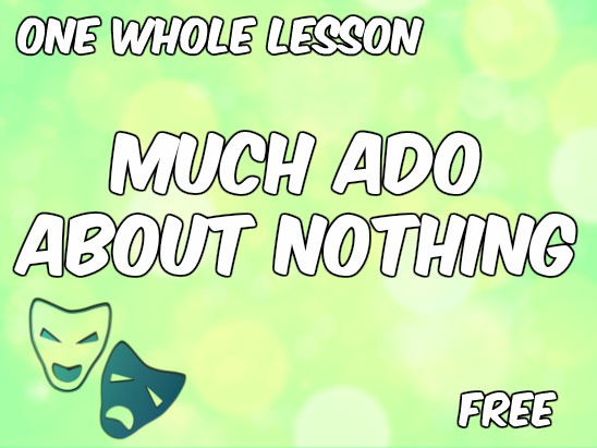Much Ado About Nothing Character Analysis (2016/17 NEW SPECIFICATION)