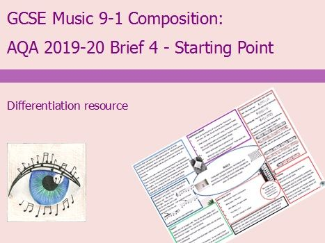 AQA Music GCSE 9-1 Composition: 2019-2020 Brief 4 Starting Point