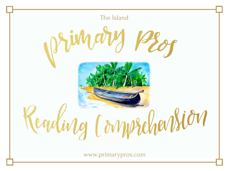 Year 3 & 4 Reading Comprehension - The Island