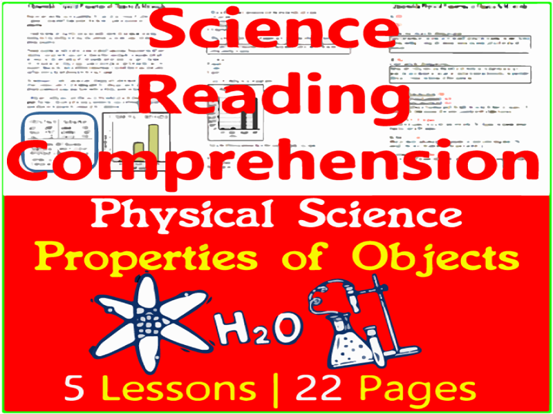 Physical Science Reading | Properties of Objects & Materials | Grade 3-4
