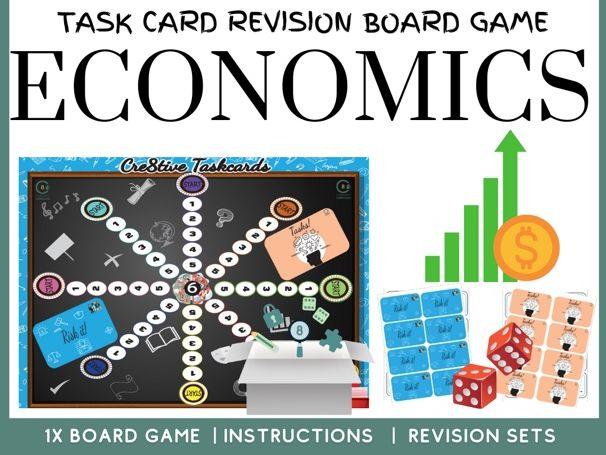 Economics A level Revision Board Game