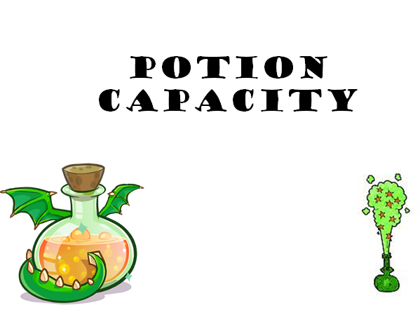 KS1 Capacity Potions