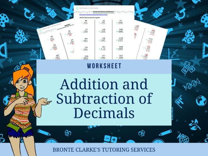 Christmas Addition and Subtraction of Decimals Yr 7