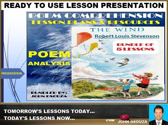 THE WIND: POEM COMPREHENSION PRESENTATION