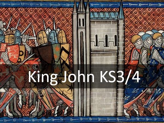 King John KS3/4 + Online History Game
