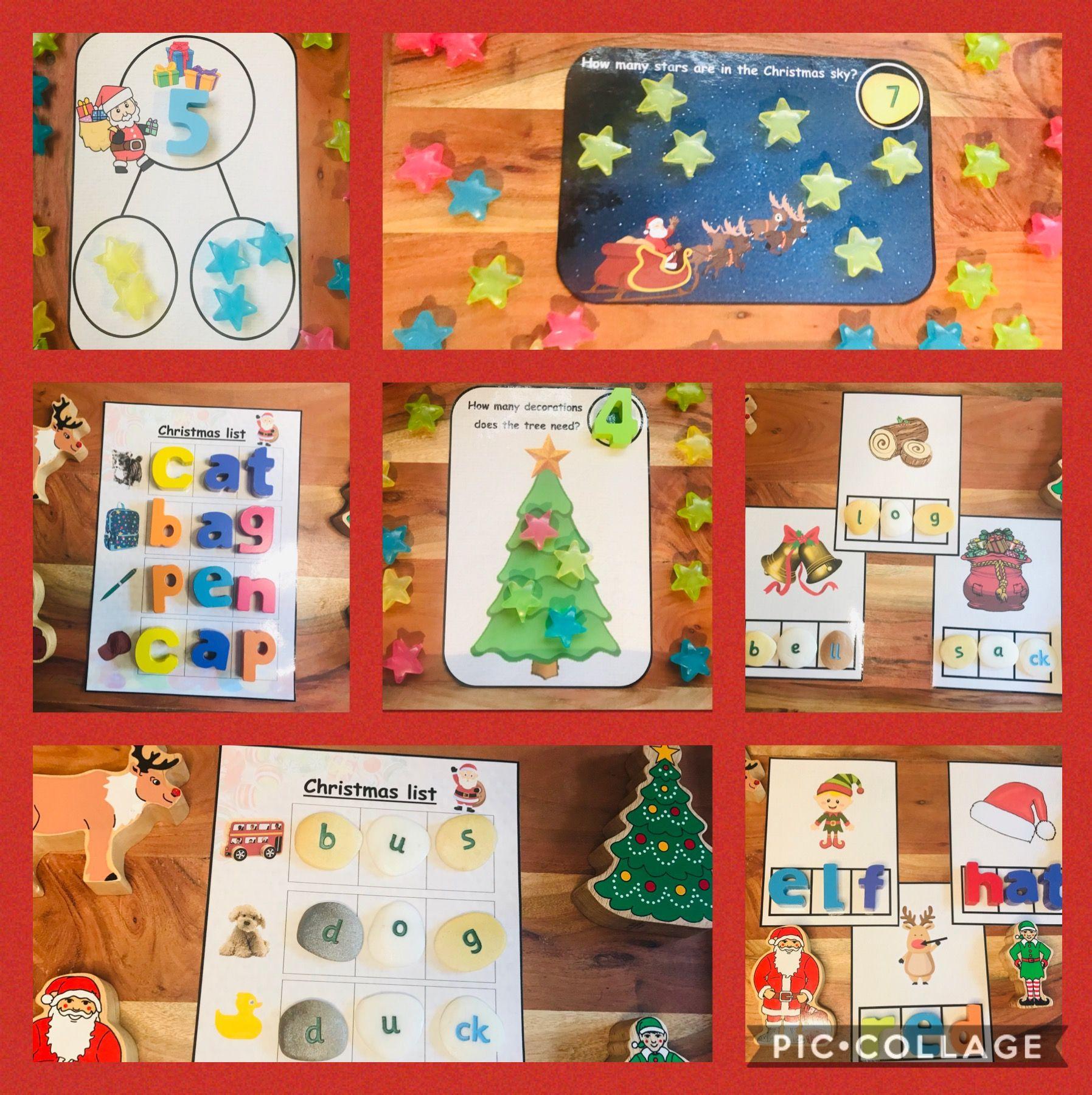 Christmas Reception Resource bundle