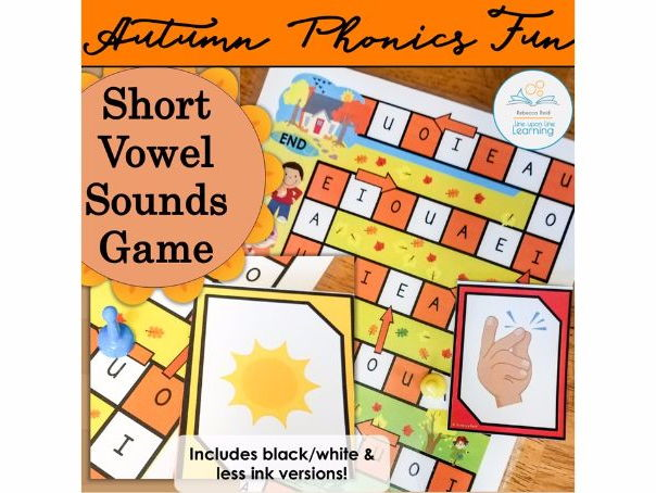 Short Vowel Sounds Autumn Game