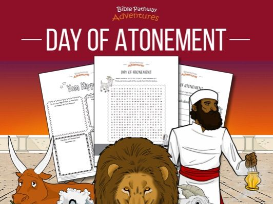 Day of Atonement (Yom Kippur) Activity Book