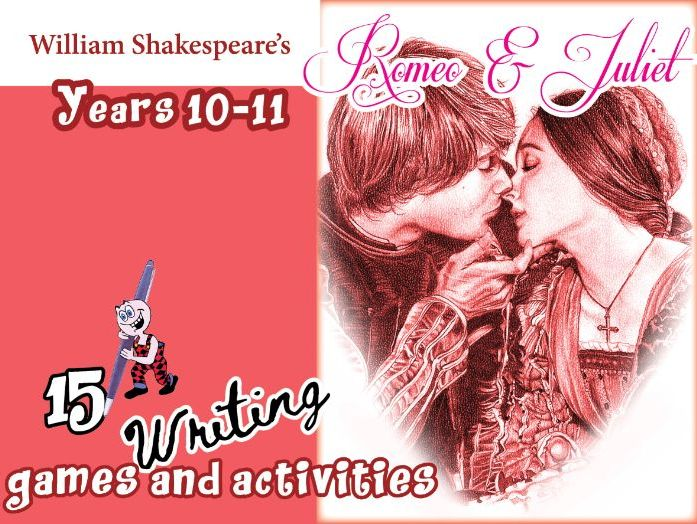 Romeo & Juliet Writing Games & Activities
