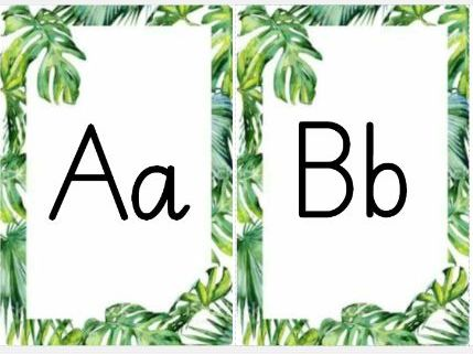 Leaf Alphabet and Timestables