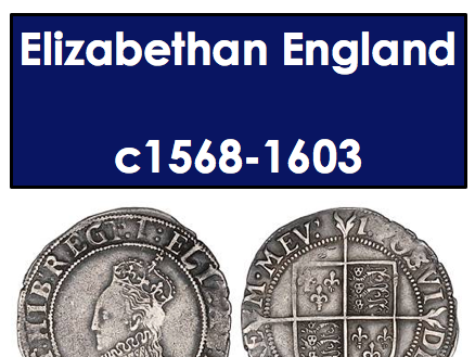 Elizabethan England Part 1 and 2 revision guide