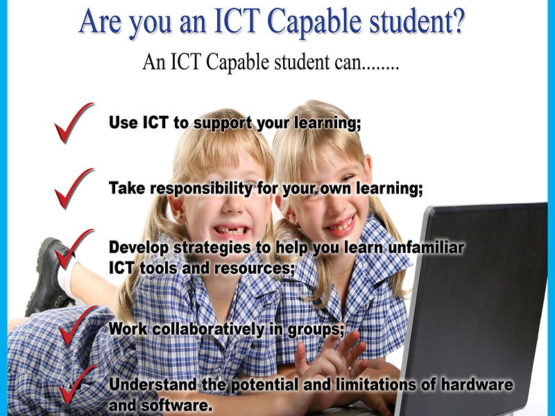 The ICT Capable Student Poster