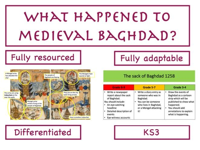 What happened to Medieval Baghdad?