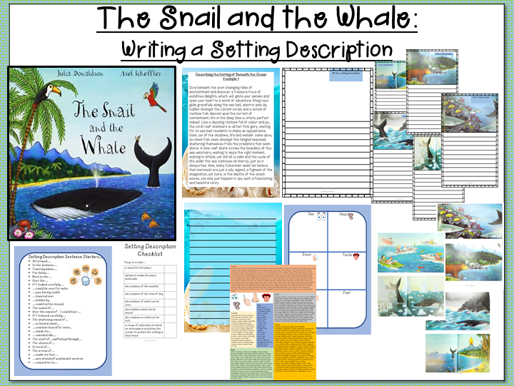 The Snail and the Whale-Writing a Setting Description
