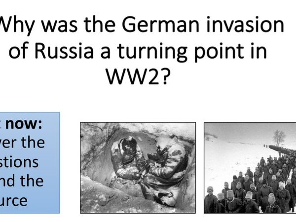 Why did Hitler invade the USSR?