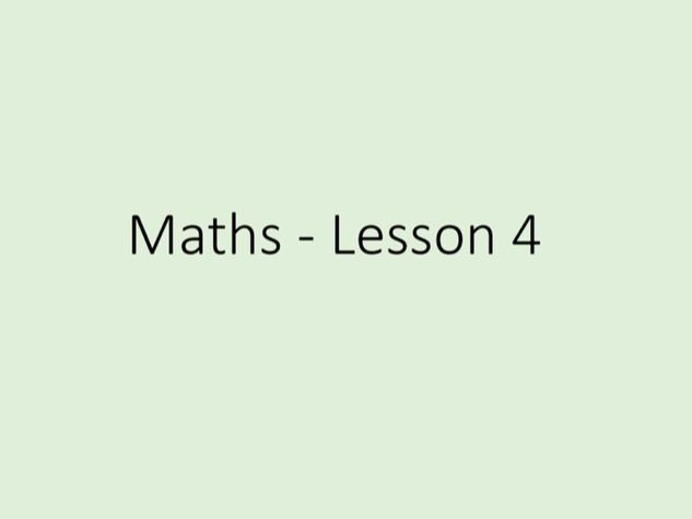 Maths GCSE - Numbers, Tuition Lesson 4 of 5 (Power Point)