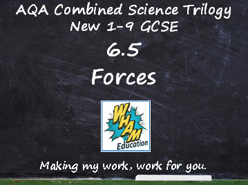 AQA Combined Science Trilogy: 6.5 Forces