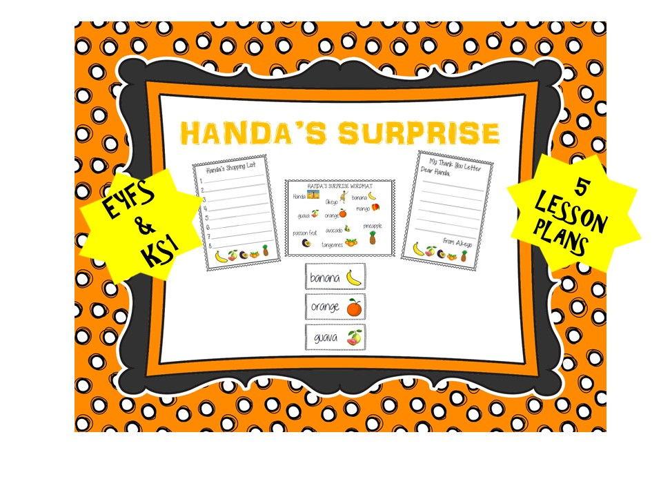 Handa's Surprise English Plan and Resources