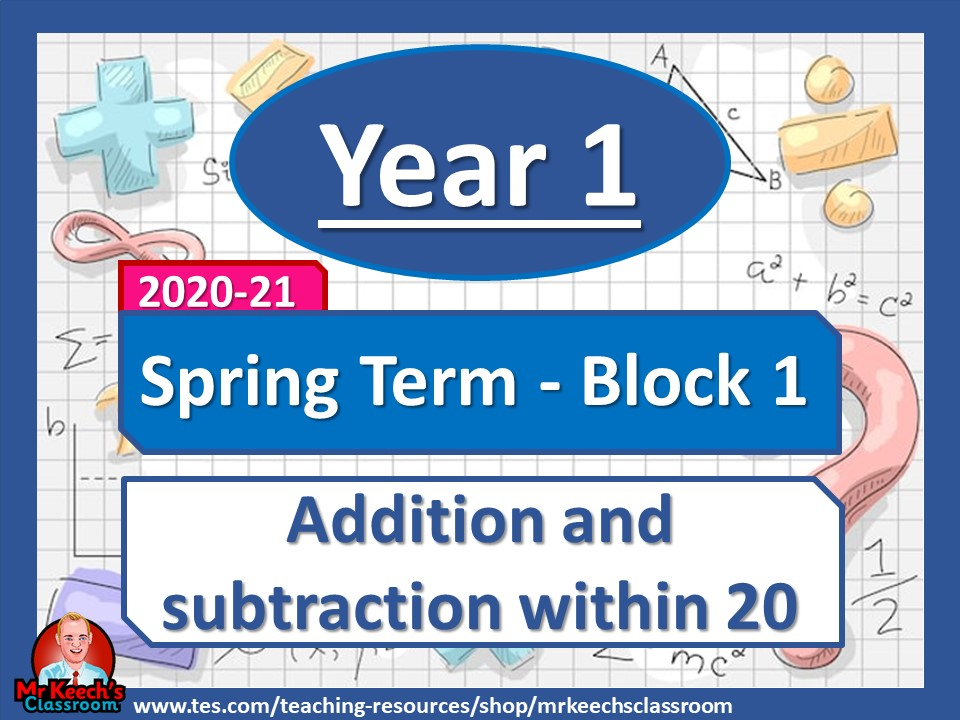 Year 1 - Addition and Subtraction Within 20 - Spring Block 1 - White Rose Maths