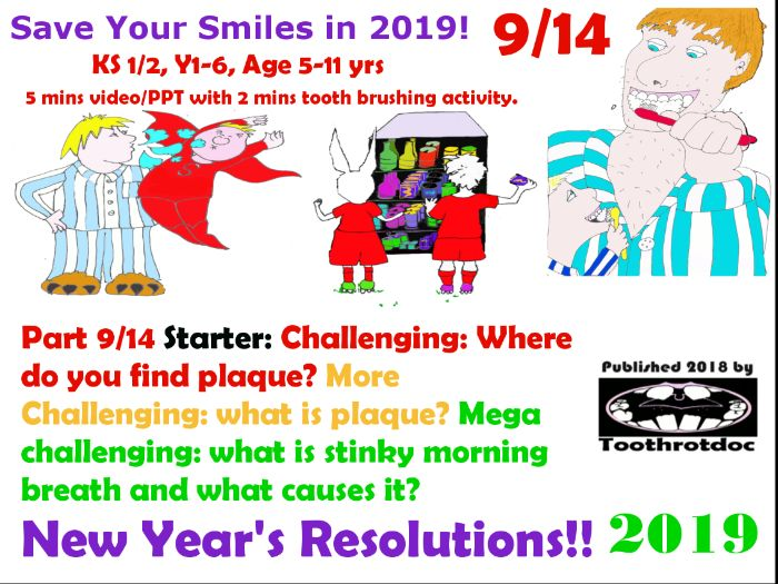9/14 New Year's Resolutions! Save Your Smiles!