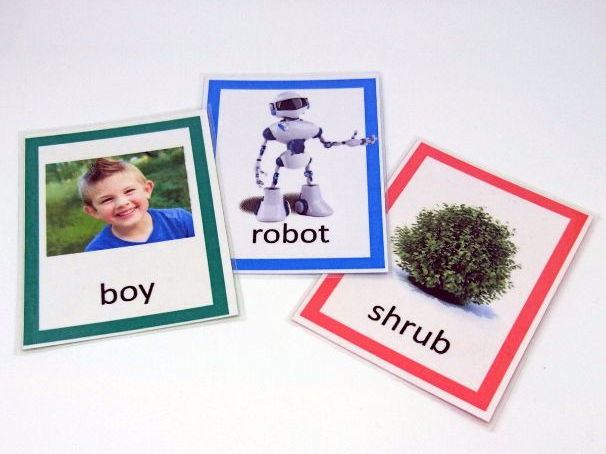 B Articulation Cards