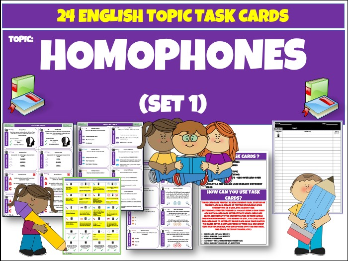 Homophones - English