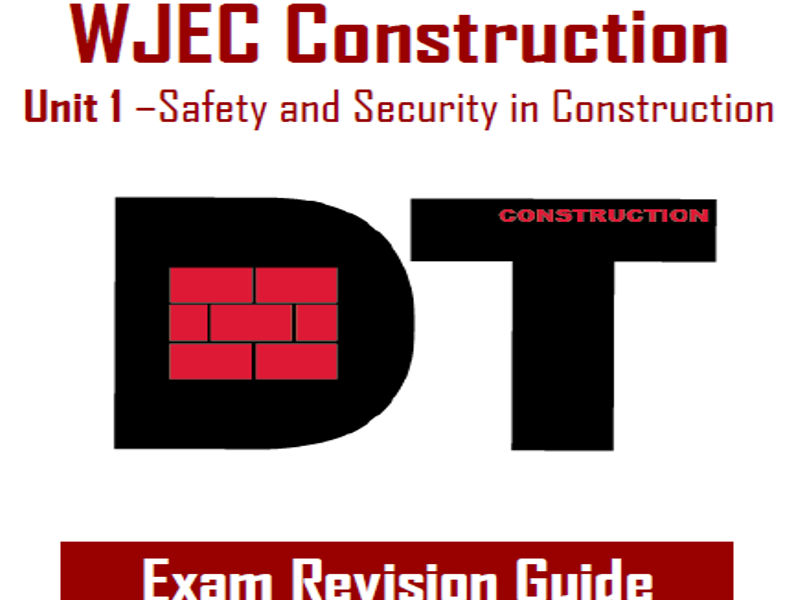 WJEC Construction - Revision Guide
