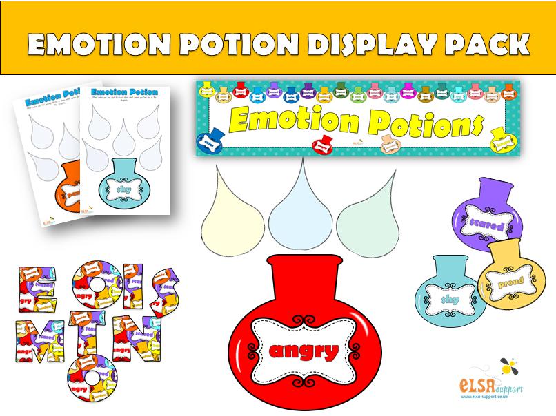 ELSA SUPPORT Emotion Potion Display Pack - PSHE