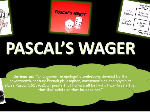 A2 Philosophy- Pascals Wager. Theory of Life after death. ALL EXAM BOARDS