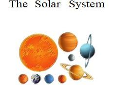 The Solar System A Research Project